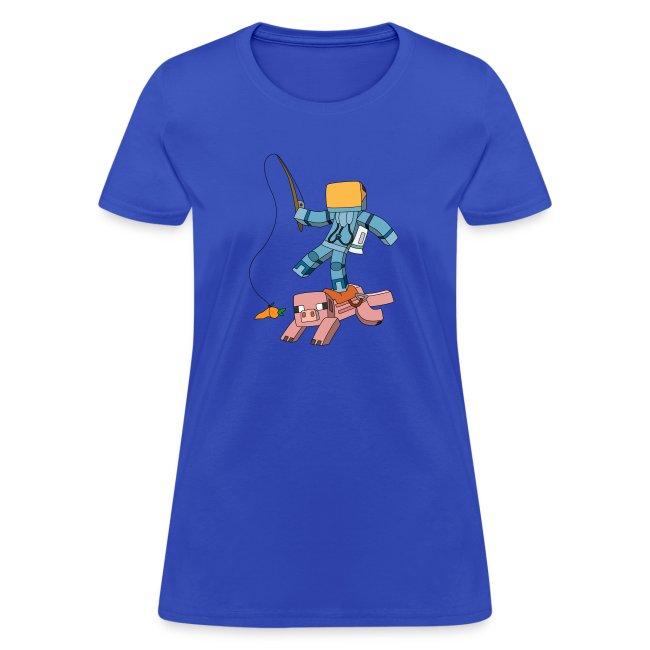 Women's T-Shirt: Carrot on a Stick
