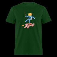 T-Shirts ~ Men's T-Shirt ~ Men's T-Shirt: Carrot on a Stick