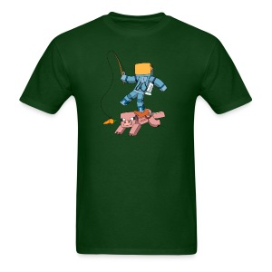Men's T-Shirt: Carrot on a Stick - Men's T-Shirt