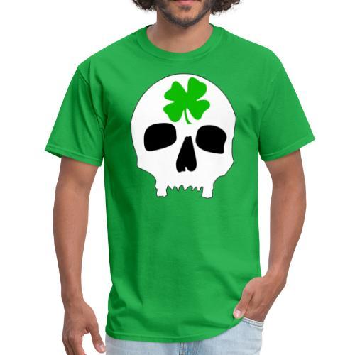 Men's T-Shirt - Irish Skull Shirt - www.TedsThreads.co St. Patricks Day Skull