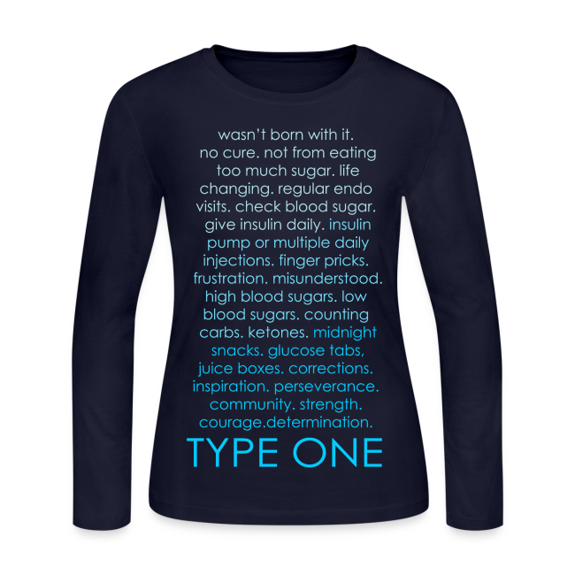 Type One Ombre Design - Blue