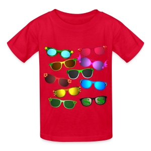 sunglasses - Kids' T-Shirt