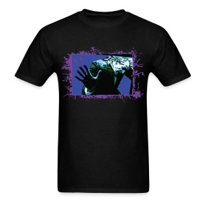 Night of the Living Dead Zombie Car Attack - Men's T-Shirt