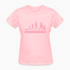 The Evolution of Mom Women's T-Shirts