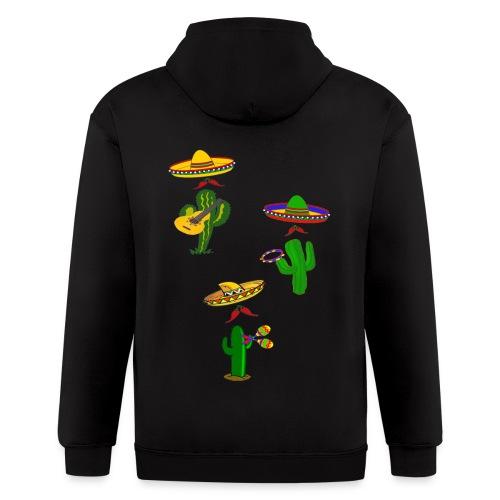 mexican musicians - Men's Zip Hoodie