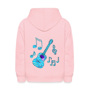 stars and guitar - Kids' Hoodie