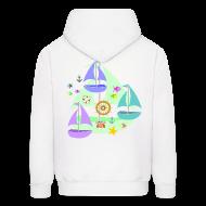 Hoodies ~ Men's Hoodie ~ sailboats