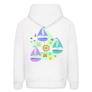 sailboats - Men's Hoodie