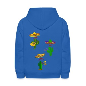 mexican musicians - Kids' Hoodie