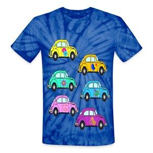 luv bugs - Unisex Tie Dye T-Shirt