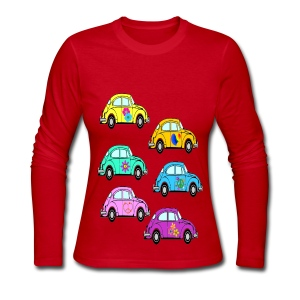 luv bugs - Women's Long Sleeve Jersey T-Shirt