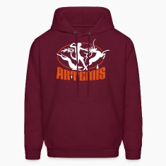 artemis_goddess_of_the_hunt Hoodies