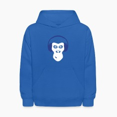 gorilla with headphones Sweatshirts