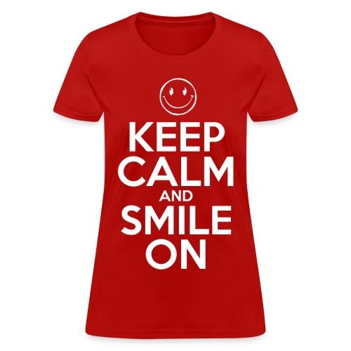 Smile On - Women's T-Shirt