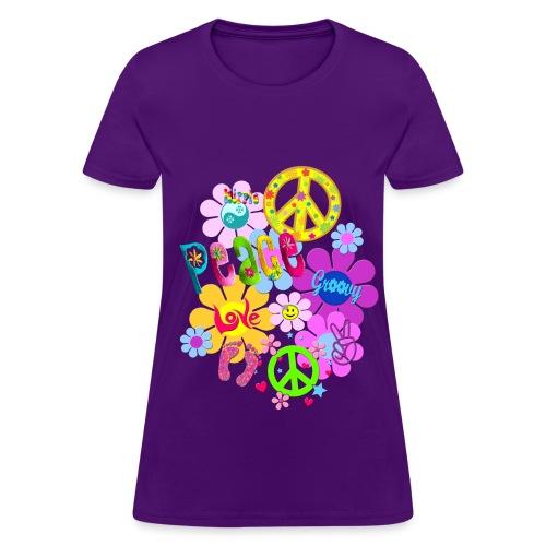 hippie - Women's T-Shirt