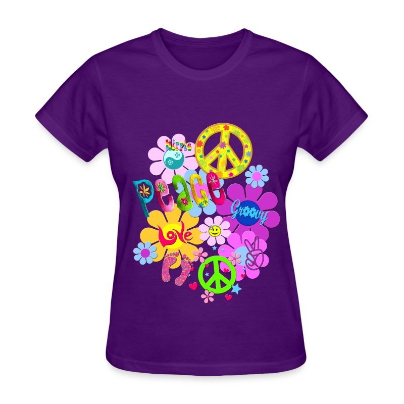 hippie - Women's T-Shirt