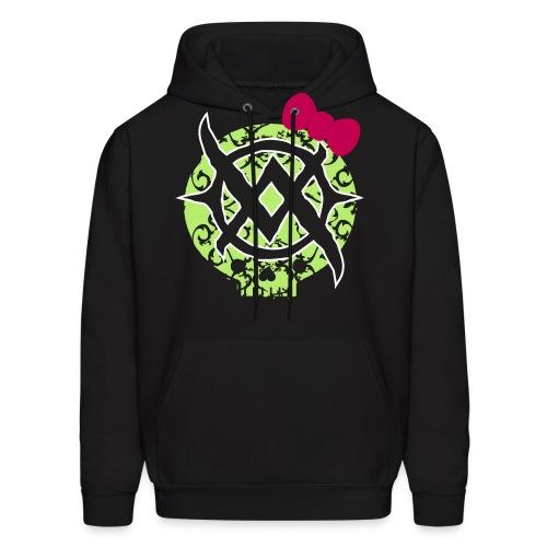 Bow Skull Front Logo Hoodie - Men's Hoodie