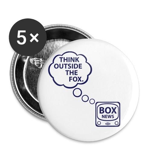 * Think Outside the Fox [SMALL] - Small Buttons