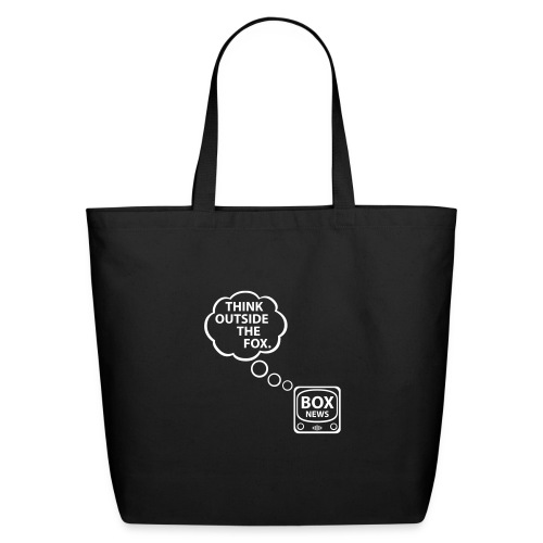 * Think Outside the Fox * - Eco-Friendly Cotton Tote