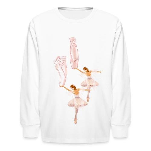 fairy ballet - Kids' Long Sleeve T-Shirt