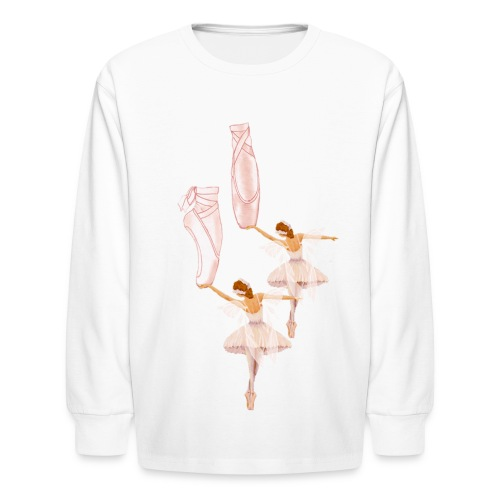 fairy ballet - Kids' Long Sleeve T-Shirt