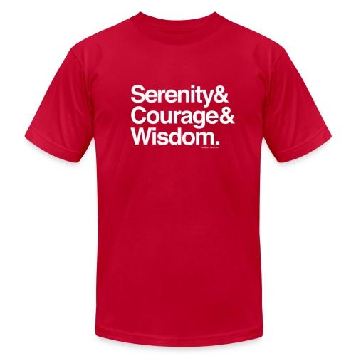 Serenity Prayer - Men's Fine Jersey T-Shirt