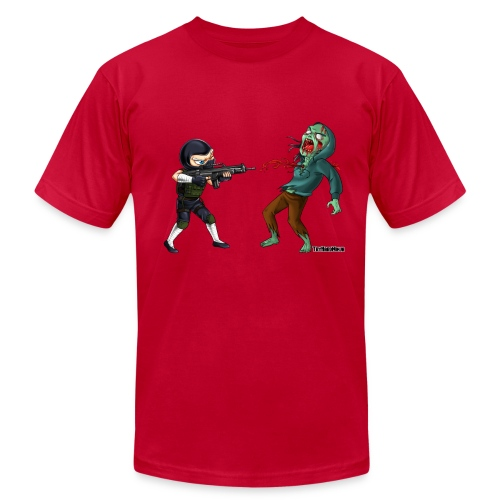 Zombie Killer Tee - Men's T-Shirt by American Apparel