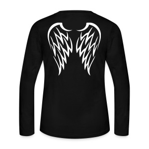 Angel Wings Back. - Women's Long Sleeve Jersey T-Shirt