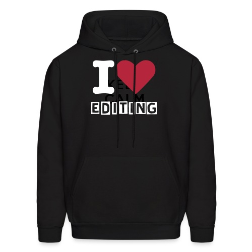 I Love Editing! - Men's Hoodie