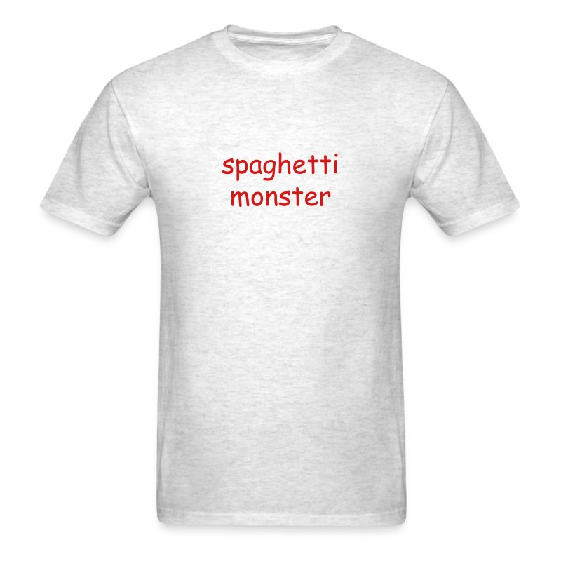 Spaghetti Monster T-Shirt - Men's T-Shirt