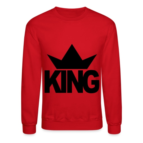 King sweat shirt - Crewneck Sweatshirt