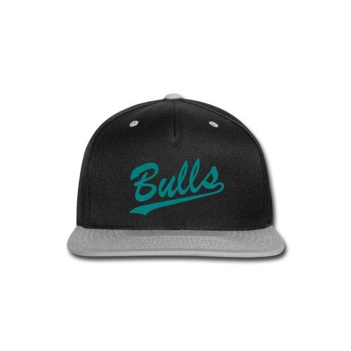 snapback bulls teal - Snap-back Baseball Cap