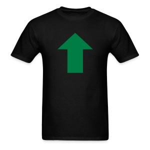 Green Upvote - Men's T-Shirt