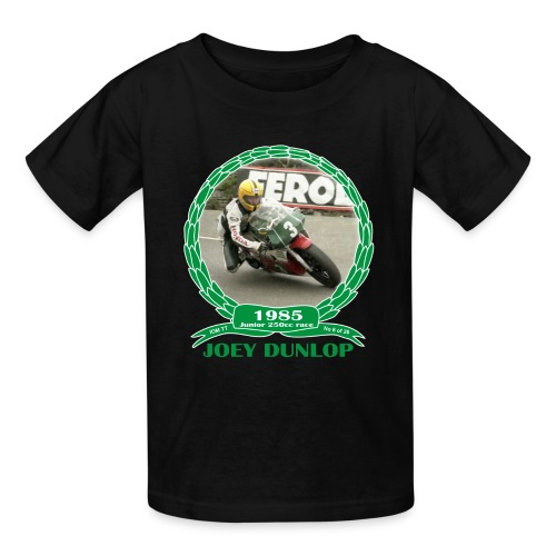 No 6 Joey Dunlop TT 1985 Junior (child) - Kids' T-Shirt