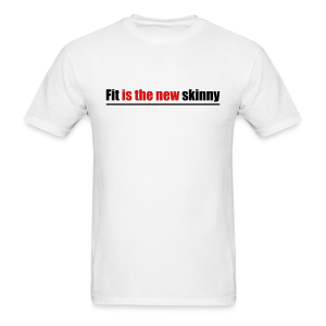 Fit is the new skinny - Men's T-Shirt