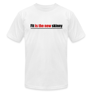 Fit is the new skinny - Men's T-Shirt by American Apparel