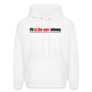 Fit is the new skinny - Men's Hoodie