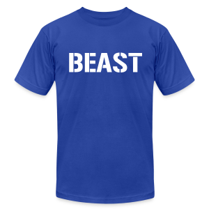 Beast - Men's T-Shirt by American Apparel
