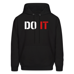 Do it - Men's Hoodie