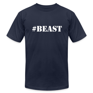 #Beast - Men's T-Shirt by American Apparel