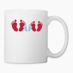 family feet Bottles & Mugs