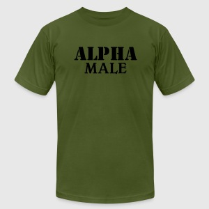 Alpha Male T-Shirts - Men's T-Shirt by American Apparel