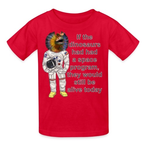 SpaceDino2SHc - Kids' T-Shirt