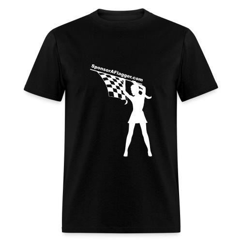 SAF Men's T-shirt w/White Logo - Men's T-Shirt