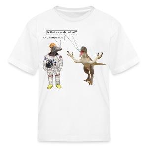 SpaceDino5SHc - Kids' T-Shirt