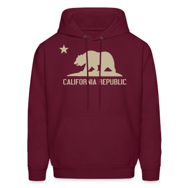 Men's California Republic Hoodie