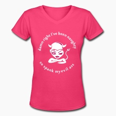 NAUGHTY GIRL Women's T-Shirts