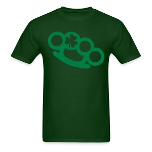 Clover Brass Knuckles  - Men's T-Shirt
