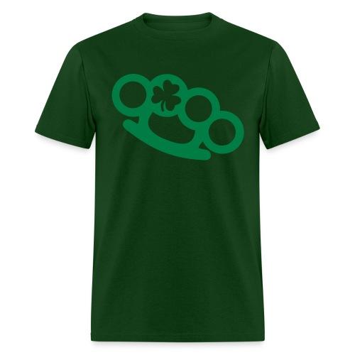 Clover Brass Knuckles  - Men's T-Shirt