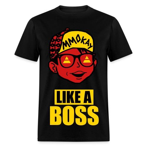 MMOkay Limited Edition (Black/Yellow) - Men's T-Shirt